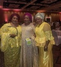 2016 мода нигерийский узор Свадебный Африканский кружевной ткани/гипюр шнур кружевной ткани для свадебной вечеринки в белом цвете NA202B