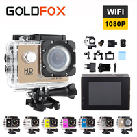 Goldfox 2 0 Inch LCD Screen Wifi Action Camera 12MP 1080P HD Waterproof Go Diving Pro