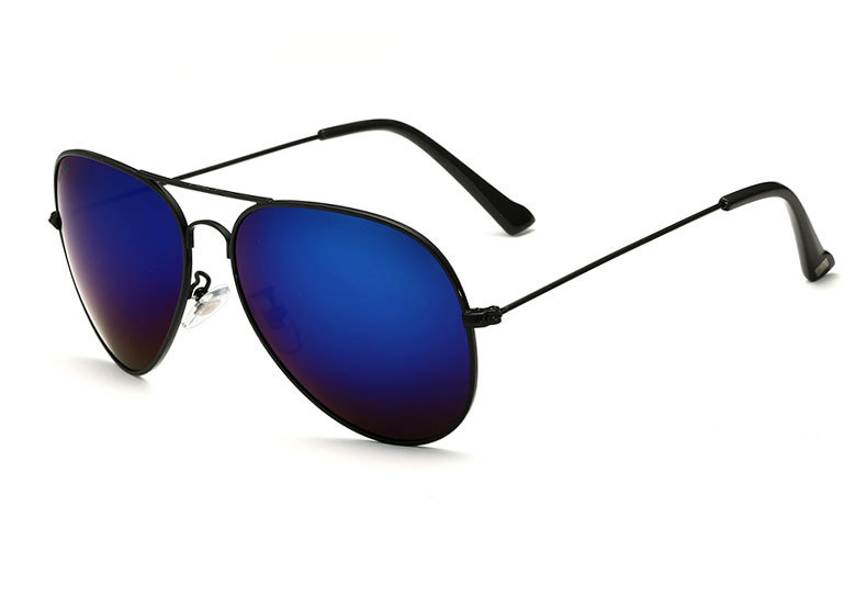 Солнцезащитные очки унисекс VEITHDIA, брендовые классические дизайнерские очки с зеркальными поляризационными стеклами, степень защиты UV400, для мужчин и женщин - Цвет линз: blackdarkblue