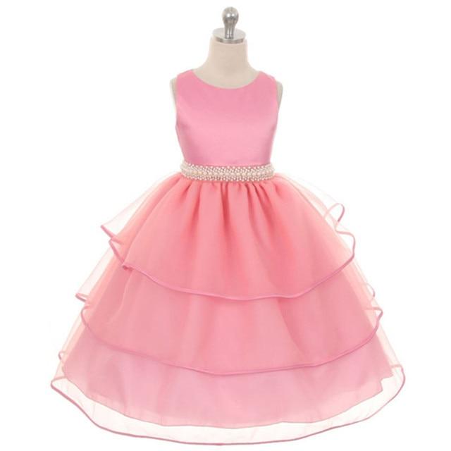 Ywhuansen para la muchacha 12 años adolescente ropa festiva vestido ...