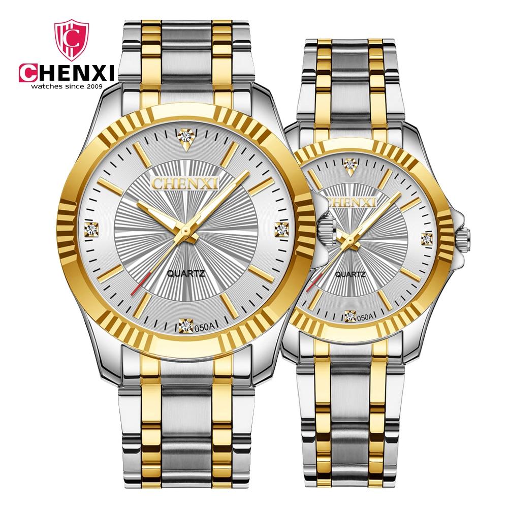 New Fashion Casual Lovers Watch 2019 Mens Watches Top Brand Luxury Quartz Couple Watch Women Clock Ladies Dress Wristwatch