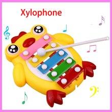Children Musical Wisdom Keyboard Instrument Educational Toys with 8 Keys for Kids Boys Girls Baby Noise Maker Toys
