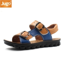 2017 New Boys shoes Genuine Leather Children sandals Summer sandals Casual outdoor shoes Refreshing breathable Excellent quality