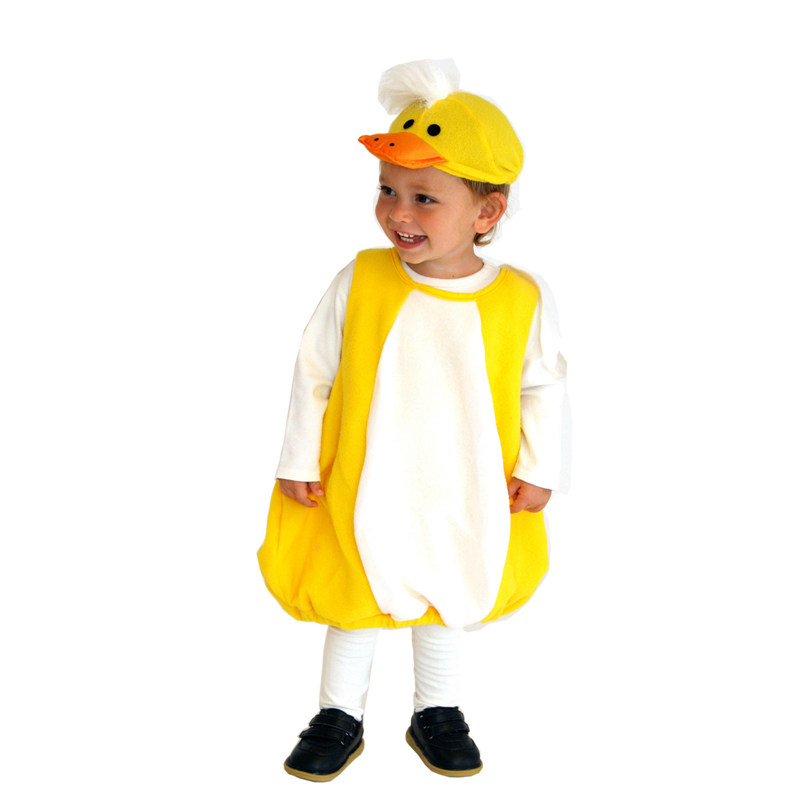 Toddler Lovely Yellow Duck Ducky Halloween Costume  2