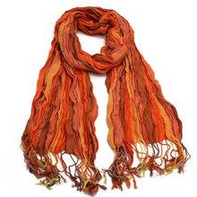 New Cotton Linen Scarf for Women 2019 Hot Scarves Soft Autumn Winter Shawl Wholesale & Retail 70*185cm Summer