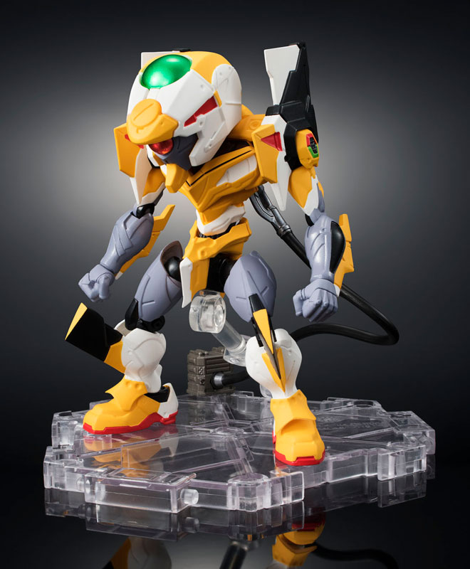 Original BANDAI Tamashii Nations NXEDGE STYLE [EVA UNIT] Action Figure - EVA-00 Proto Type + ESV Shield Rebuild of Evangelion
