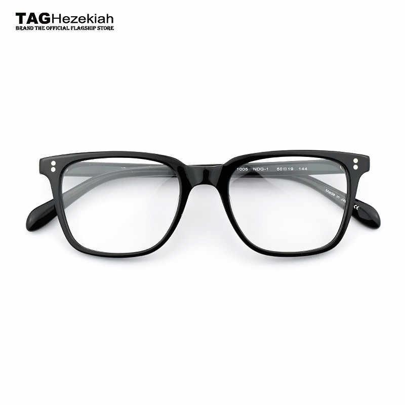 801a71dfa78 2018 Retro myopia glasses frame women nerd fashion brand computer optical  frame eyeglasses men oculos de
