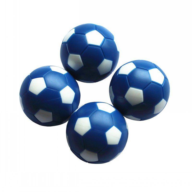 36mm Fußballtisch Babyfußball Blauer Mini Tischfußball 8 Stk. FUSSBALL TISCHKUGELN Qualität 24g / Stk