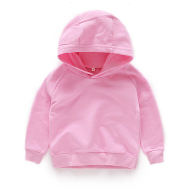 Solid Color Hoodie for Boys