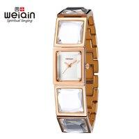 WEIQIN Women Watch  Analog Quartz Wristwatch Clock Ladies Casual Women Dress Watches Relogio Feminino