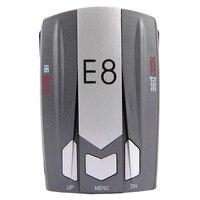 CARGOOL Vehicle Speed Detector E8 Car Radar Detector LED Display Voice Alert 360 Degree Protection Car