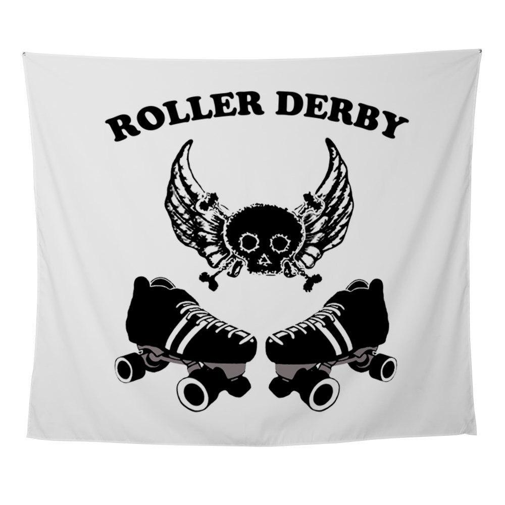 Roller Derby Wings - Wall Tapestry