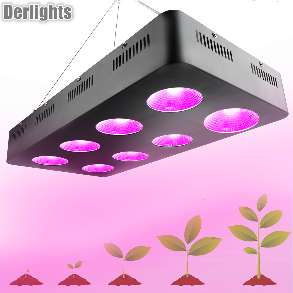 цена на 2000W 1500W 1000W 500W Full Spectrum COB Led Grow Light For Hydroponics Cultivation Flower Medical Indoor Plants Grow Tent Light