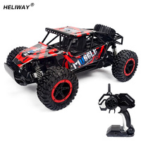 HELIWAY RC Car High Speed SUV Drift Double Motors Drive Bigfoot Car Remote Control Radio Controlled