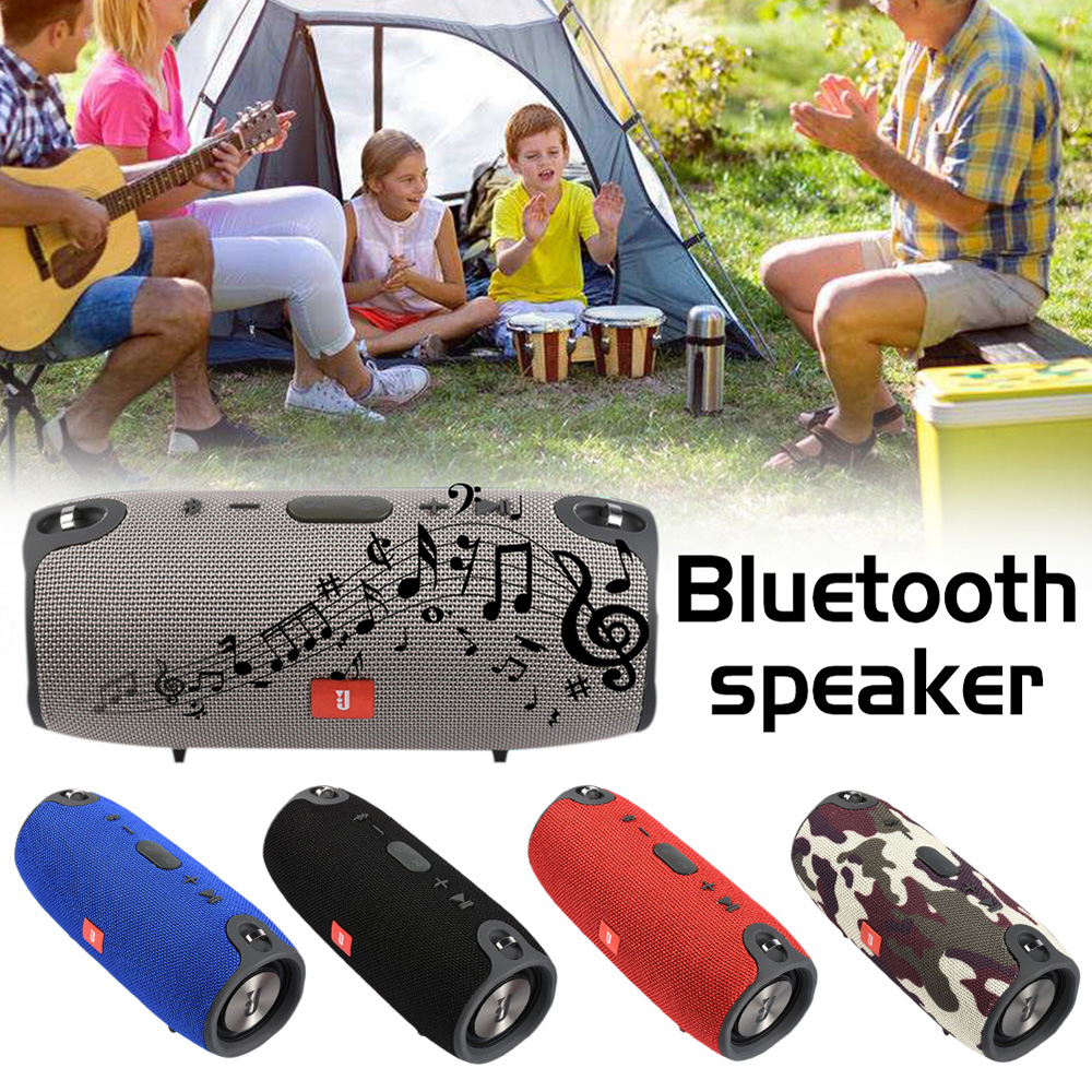 Portable Column Wireless Bluetooth Powerful Speaker Outdoor Column Sound Stereo audio box sport Music HIFI Speaker with FM TF portable wireless bluetooth column speaker stereo subwoofer support usb sound box tf fm radio with mic dual bass loudspeaker