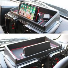 Автомобильный ABS нескользящий коврик для хранения приборной панели Чехол Для Suzuki Jimny интерьерные аксессуары для укладки