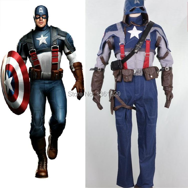 Are captain america adult costume