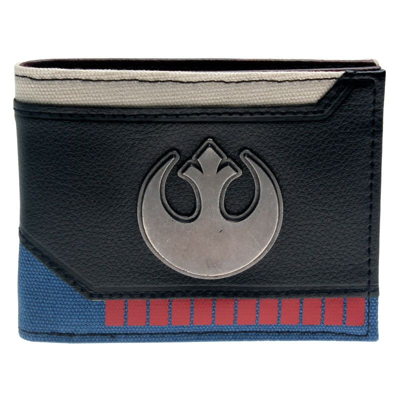 Star Wars  Bi-Fold Wallet  DFT-2025 flash wallet dc comics heroes vs villains bi fold purse dft 1574