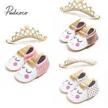 736b637f0 2018 Фирменная Новинка для новорожденных одежда для малышей для девочек  мягкие пинетки Обувь для новорожденных противоскользящие