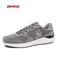 2017 Spring New Arrival Men S Sports Running Shoes Mesh Breathable Light Outdoor Adult Sneaker Track