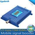 1 шт. х CDMA 850 МГц Мобильный Сотовый Телефон Усилитель Сигнала UMTS 850 МГц Ретранслятор Celular Усилитель 70dB С ЖК-экран