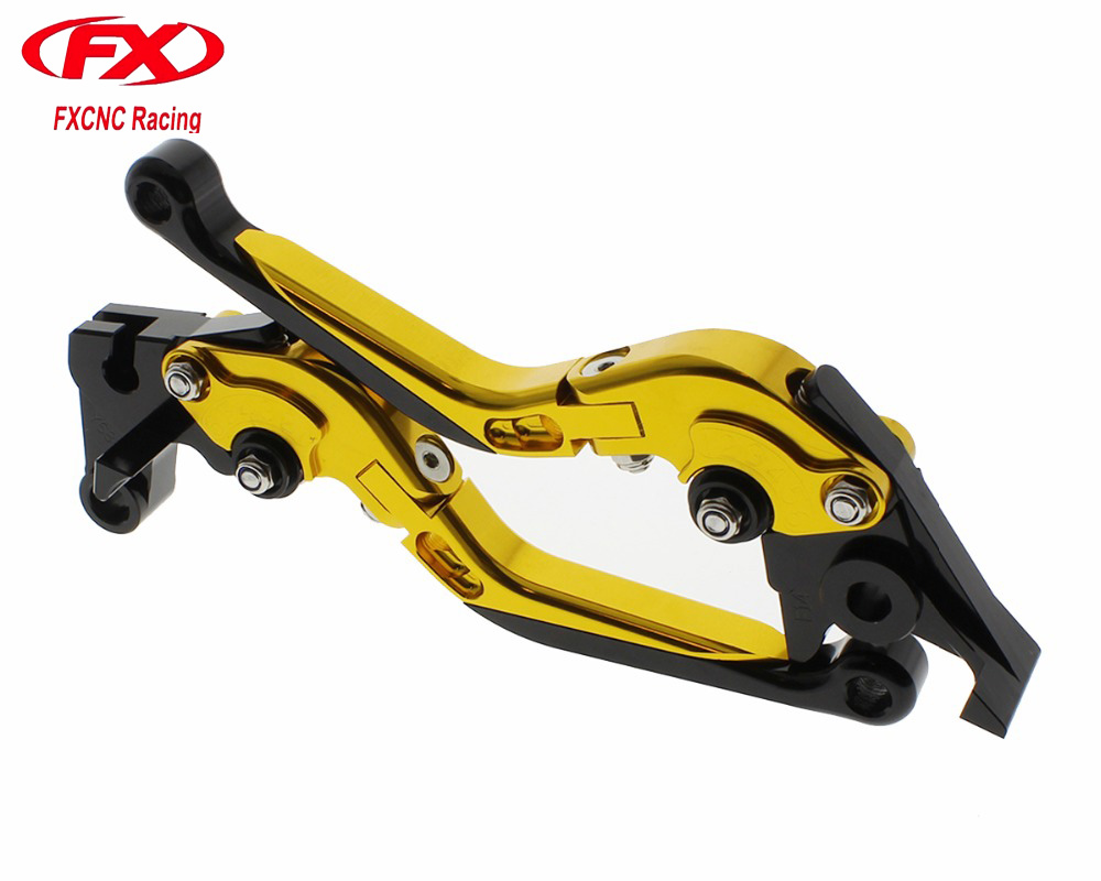 FX Folding Extendable Adjustable Aluminum Motorcycle Brake Clutch Levers for HONDA CBR500R CB500F CB500X CBR250R CBR300R CB300F billet new alu long folding adjustable brake clutch levers for honda cbr250r cbr 250 r 11 13 cbr300r 14 cbr500r cb500f x 13 14