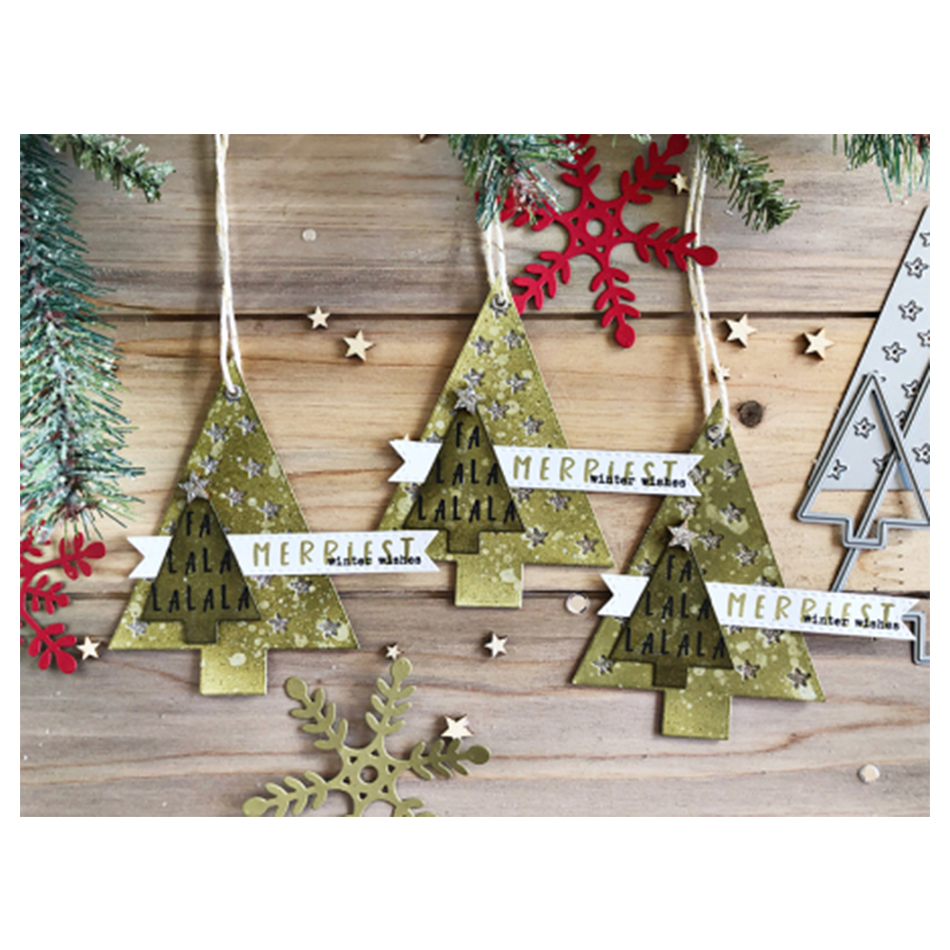 Costco Twinkling Christmas Tree: Eastshape Twinkling Trees Star Stamps And Dies Christmas