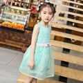 2016 bow bear plaid castle pattern summer cute organza tutu princess dress birthday party dresses for girls 3 4 5 6 7 8 10 years
