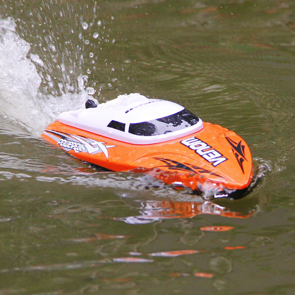 ФОТО Boat Model RC toy For Udirc 2.4GHz High Speed Remote Control Electric Boat Speedboat Toys for children