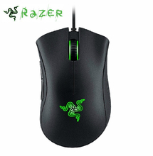 Razer DeathAdder Chroma Gaming Mouse 10000 DPI 16.8M Color RGB LED USB PC Gamer Wired Synapse Recognized For CSGO,Overwatch