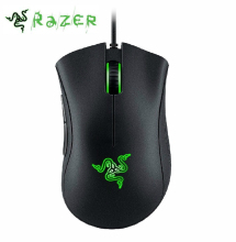 Razer DeathAdder Chroma Gaming Mouse 10000 DPI 16.8M Color RGB LED USB PC Gamer Wired Synapse 2.0 For CSGO,Overwatch