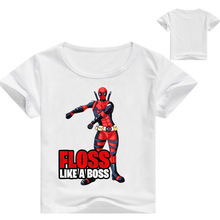 Kids Hot Game Dab T-shirt Costume Boys Summer 3D Print BOSS Tees Tops Clothes Children Tshirt Clothing For Baby Cotton T Shirt roblox letter children t shirt glow in the dark luminous kids summer clothes game t shirt for boys girls tops tees casual cotton