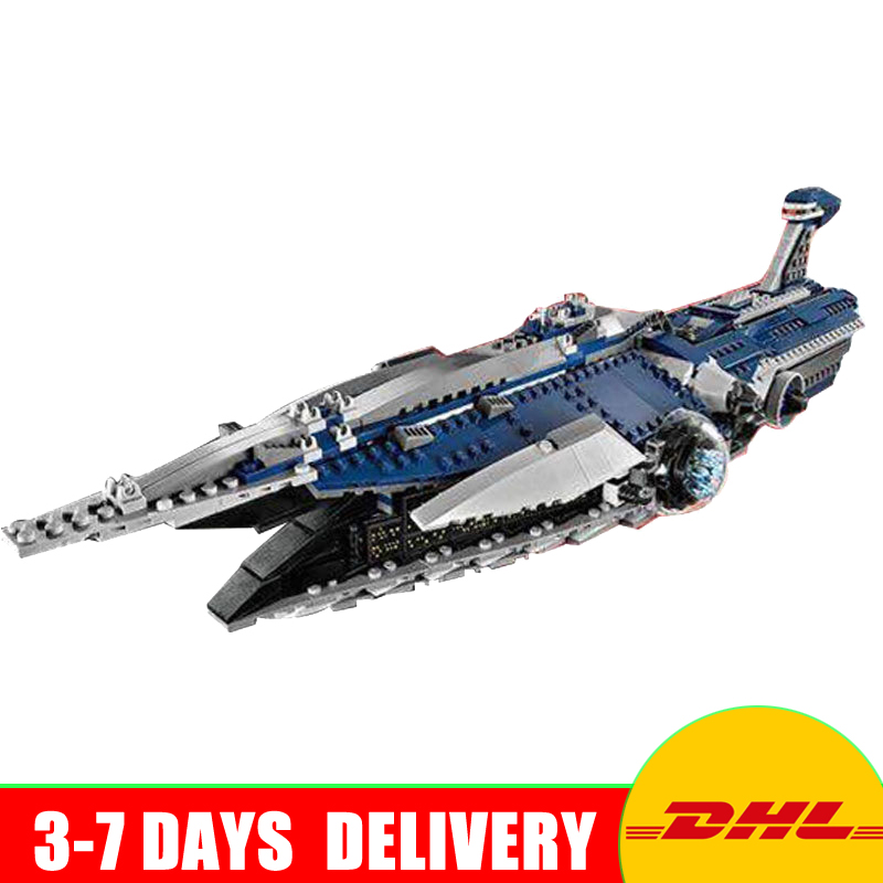 где купить In Stock 05072  UCS Series The Limited Edition Malevolence Warship Set Children Building Blocks Bricks Toys Compatible 9515 по лучшей цене