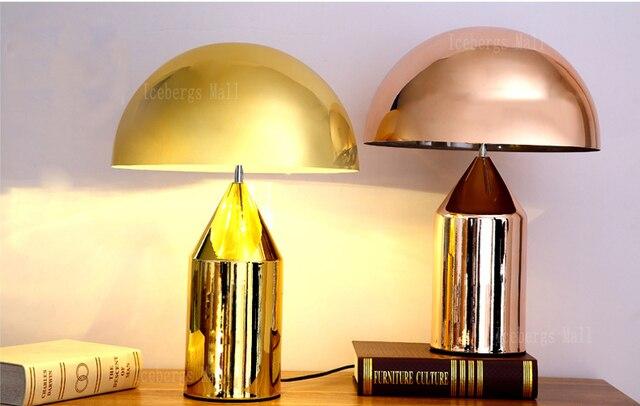 Replica Design Lampen : Moderne metall mushroom schreibtischlampe italien replica designer