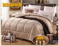 220 240cm Plus Size Camel Hair Winter Quilt Autumn Blankets Colchas Casal Colcha Comforter Bedding Sets