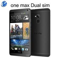 HTC-teléfono inteligente One Max libre, Smartphone con Android, GPS, Dual sim, 16GB de ROM, 2GB de RAM, cuatro núcleos, 3G, 5,9 pulgadas, 4MP, WIFI, HTC ONE MAX