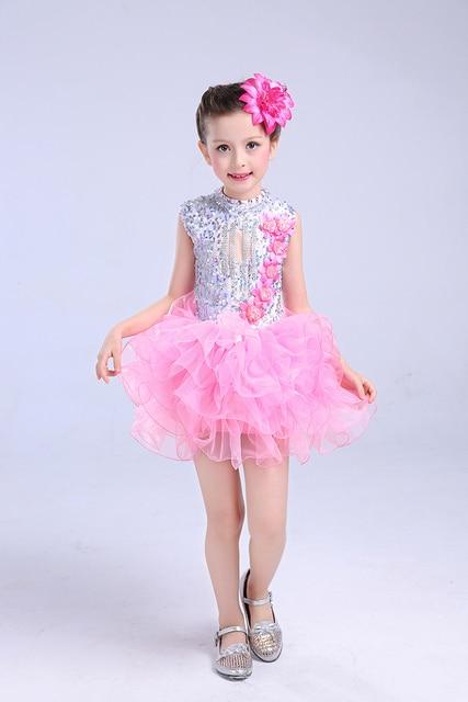 4d35c9ef6 1piece puffy Girls tutu Ballet performance dance Dresses Princess ...