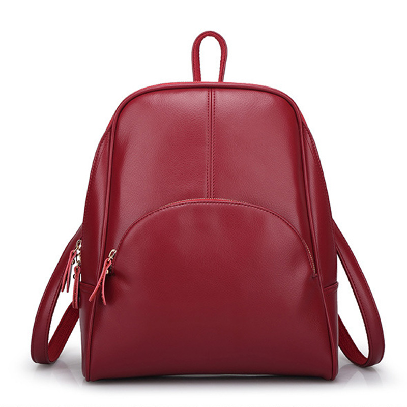 Women Backpack Fashion Leather Bag Europe And The United States Trend Leisure Backpack Lady Travel Bags gzl 2017 female backpack europe and the united states simple style fashion backpack college backpack bucket bag leisure package