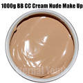 Nourishments CC BB Cream 1000g Nude Makeup Concealer Isolation Whitening Moisturizing Cosmetics Beauty Salon Care Equipment OEM