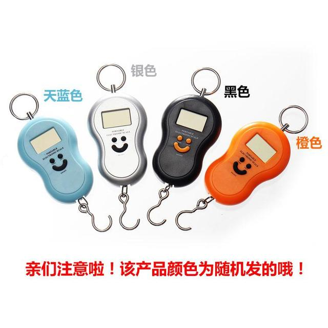 Electronic scale portable scale spring balance portable electronic scales express scale 40kg 10g