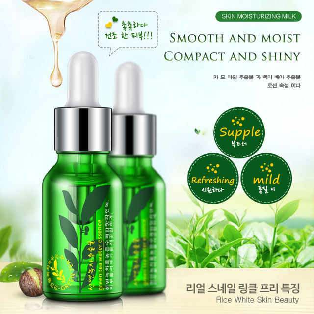 OMY LADY ROREC Green tea seed moisturizing essence Facial essence Hydrating moisture Elite fluid soft&deep nourishing skin gel