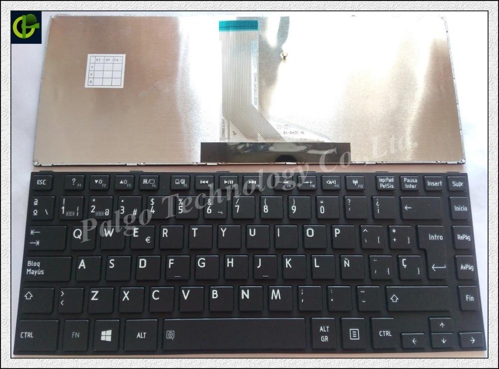 Spanish/Latin Keyboard For Toshiba Satellite C800 C800D C805 C805D C840 C840D C845 C845D M805 Black LA / SP Teclado Keyboard