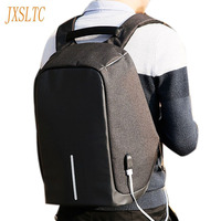 Men S 15 Inch Laptop Charging USB Multifunction Backpacks For Teenage Male Fashion Leisure Travel Backpack
