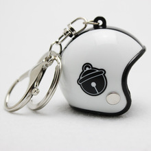 New Motorcycle Helmets Key chain Women men Cute Safety Helmet Car Keychain Bags Hot Key Ring gift Jewelry wholesale