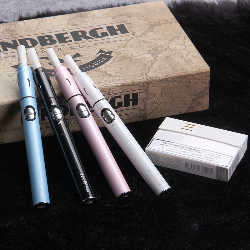 Pluscig Vape Pen V10 Heating Stick Kit 900mah Dry Heat Not Burn E Cigarette Vaporizer Smoking Compatible With Icos Stick