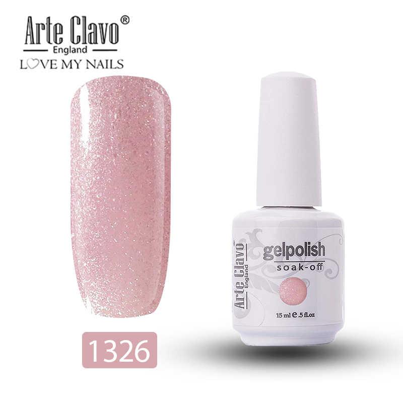 Verniz uv do gel das cores cor-de-rosa do nude 15 ml do verniz duradouro do gel de arte do prego de arte do prego de arte do prego do