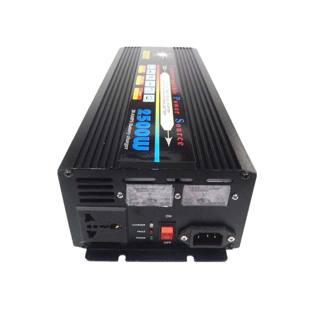 good quality continous power 2500W 5000W(peak power) DC 12V to AC 220V 50HZ Power Inverter+Charger & UPS,Quiet and Fast Charge набор д творчества шнурок для бижутерии с замком wre1038 11 43см 2 1 4мм 1 шт уп