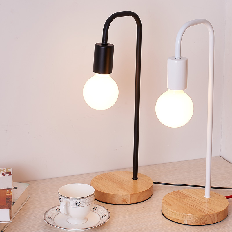 modern fashion wood table lamp bedside lamp bedroom lamp