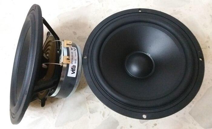 2 шт. оригинальный Vifa P17WJ-00-08 6,5 ''Hifi Высокочастотный динамик драйвер устройства литья Алюминий Frame полипропиленовый конус 4/8ohm 80 Вт D170mm круглый