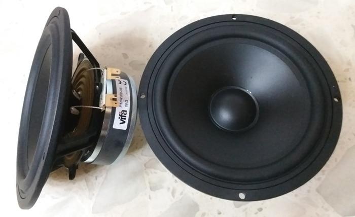 2PCS Original Vifa P17WJ 00 08 6 5 Hifi Midwoofer Speaker Driver Unit Casting Aluminum Frame
